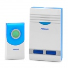 32-Melody Wireless Doorbell Transmitter/Receiver Set - White + Blue (1 x 23A 12V / AC 220~240V)
