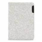Protective PU Leather Case for Samsung P7500- Light Grey