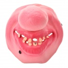 Scary Half Big Nose Face for Halloween Costume / Cosplay - Pink
