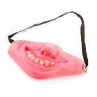 Scary Half Big Teeth Face for Halloween Costume / Cosplay - Pink