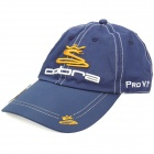 Stylish Water Resistant Baseball Cap Hat with Magnetic Ball Marker - Cobra Logo (Dark Blue)