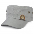Water Resistant Fabric Casual Cap Hat - Grey