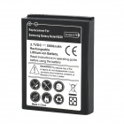 Replacement 3.7V 5000mAh Extended Battery w/ Back Cover for Samsung i9220 - White