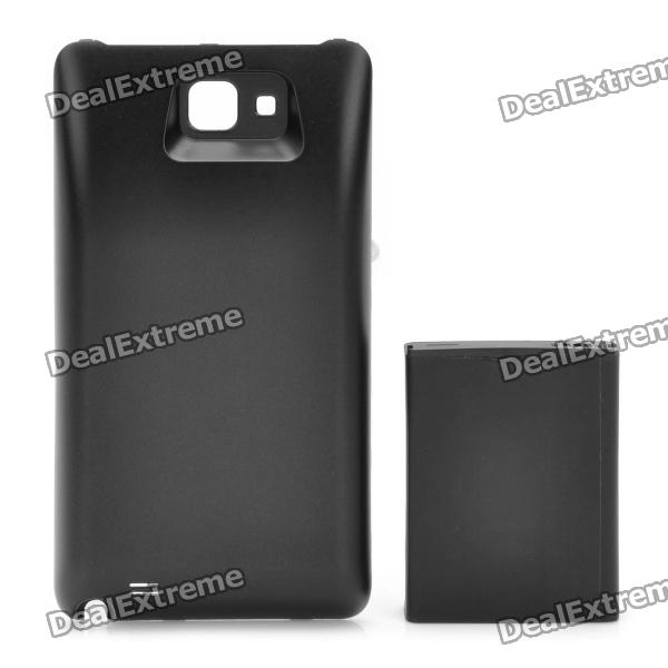 3.7V 5000mAh Extended Battery w/ Back Cover for Samsung i9220 - Black электрочайник philips hd9326 20
