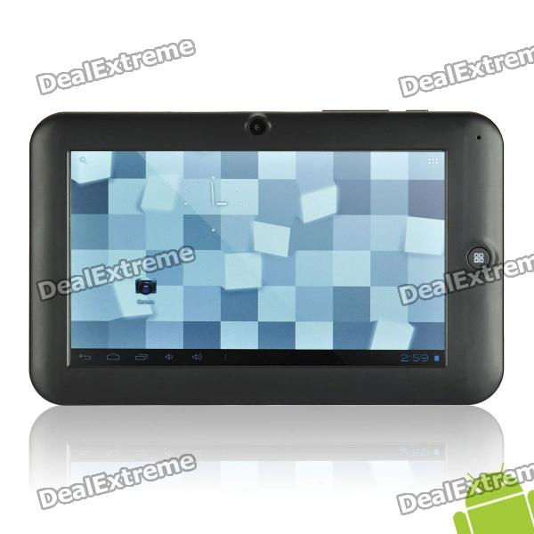 "Dropad A13 7"" Capacitive Screen Android 2.3 Tablet w/ WiFi / External 3G / Camera - Black (4GB)"