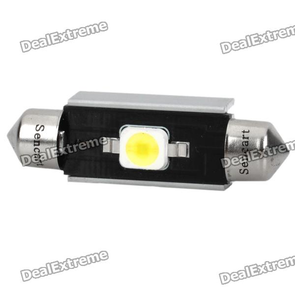 41MM/42MM 2W 6500K 110LM 7060 SMD LED White Light Canbus Bulb for Car (12~18V)