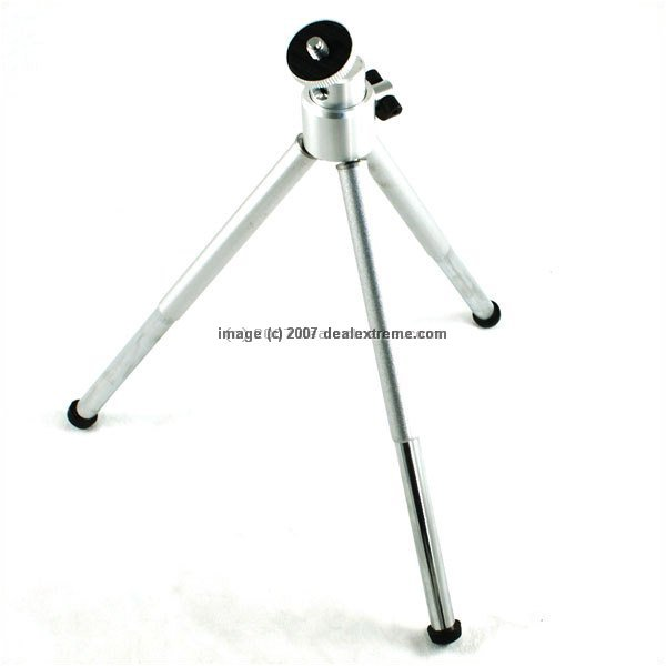 Mini 8-inch Metal Tripod