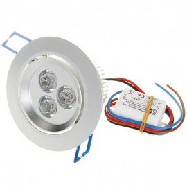 3*1W 3W 180-Lumen White LED Spot Light Module with Constant Current Driver (100V~240V AC)