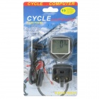 "1.7"" LCD Electronic Bicycle Computer / Speedometer (1 x CR2032)"