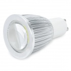 GU10 5W 480~500LM 6500~7000K Convex Lens Integration LED White Light Lamp (85~265V)
