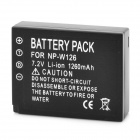 NP-W126 1260mAh Battery for FinePix HS30EXR / HS33EXR / X-Prol - Black