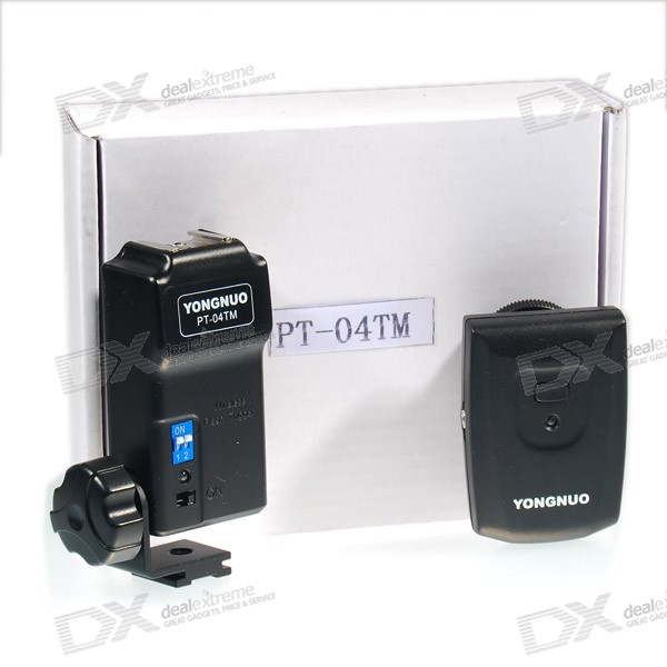 YongNuo Wireless Remote Flash Trigger for Canon 430/580 EX DSLR Digital Camera