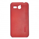 NILLKIN Protective PC Back Case for Huawei C8810 - Wine Red
