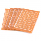 Universal Único Sided Breadboard - Brown (5-Piece Pack)