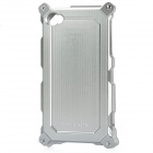 Protective Aluminum Alloy Detachable Case for iPhone 4/4S - Silver