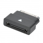 Apple 30-Pin Male to Female Data Adapter for iPhone / iPod / iPad - Black