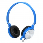 Sonun SN-1050 Stereo Headphones Headset w/ Microphone - Blue (3.5mm Jack)