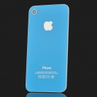 Replacement Back Cover Housing Case for iPhone 4S - Blue
