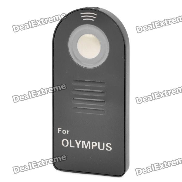 Wireless IR Remote Control for Olympus E Series + More - Black (1 x CR2025)