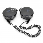 Rechargeable Sports MP3 Player Headset Headphone with FM / TF Slot - Black