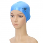 Genuine Elasticity SABLE SCS Silicone Swim Cap for Adult - Blue