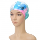 Genuine Elasticity Printing Color SABLE SCM Silicone Swim Cap for Adult