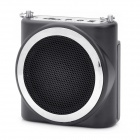 KIMAFUN Multi-Function Megaphone Voice Amplifier Music Speaker - Black
