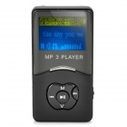 "Stilvoller MP3-Player w/1.4 ""Bluelight LCD - schwarz (2GB)"