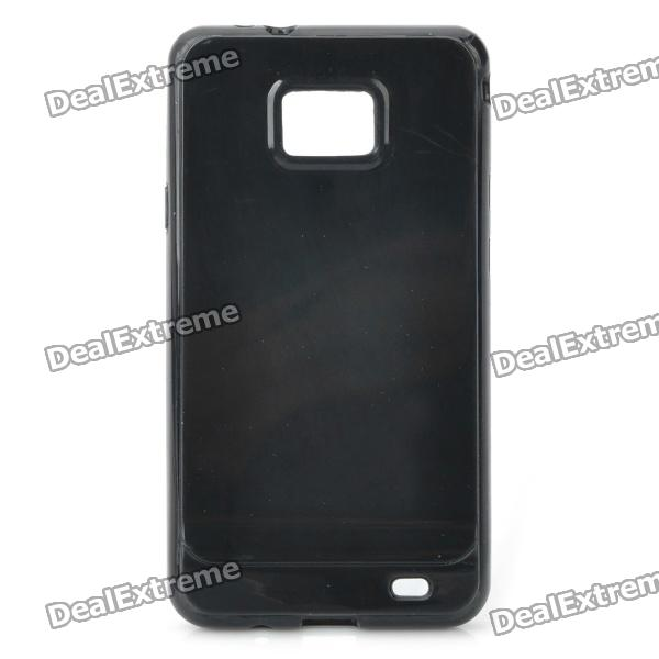 Protective TPU Case for Samsung i9100 Galaxy S2 - Black смарт часы samsung gear s2 black