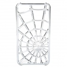 Spider Web Pattern Protective PC Case Cover for Iphone 4 / 4S - Silver