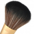 Professional Cosmetic Make-Up Foundation Soft Brush - Black + Golden