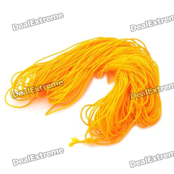 Long Yellow String for Weave Bracelet DIY (30M)