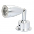 1W 3200K 95-Lumen 1-LED Warm White Light Swivel Head Spotlight (AC 89~265V)