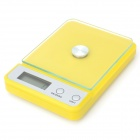 "Electronic Kitchen Scale w/ 1.9"" Display Monitor - Yellow (5kg / 1g)"