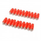 DIY Binding Post Terminals - Red + Silver (20-Piece Pack)