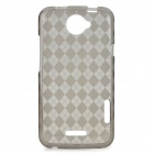 Protective TPU Back Cover Case for HTC One X - Black