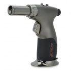 JOBON ZB-529 Steel Adjustable Flame Butane Jet Torch Lighter - Silver Grey (Max. 1300'C)