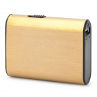 Rechargeable 5000mAh Mobile Power Pack w/ 1W LED Flashlight for PS Vita - Golden
