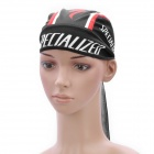SPECIALIZED Team Cycling Bicycle Bike Outdoor Sports Head Scarf Cap Hat - Black