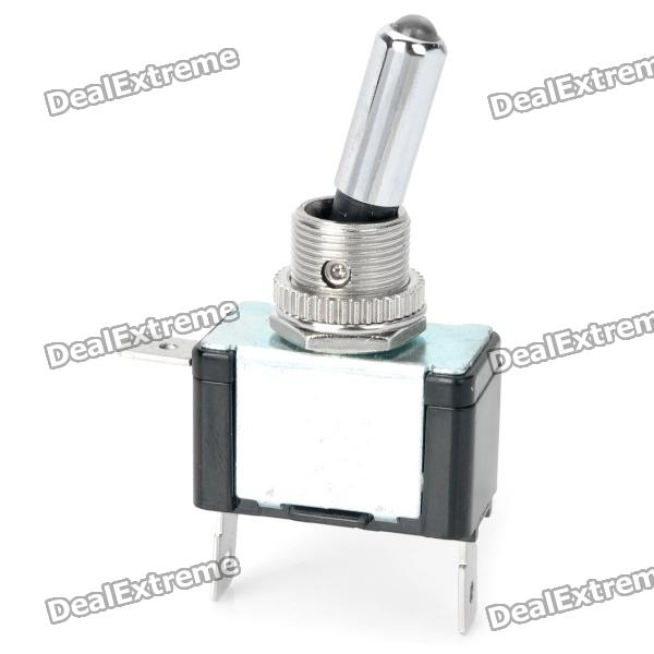 Vehicle Car DIY Toggle Switch with Blue Indicator (DC 12V)