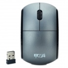 2.4GHz 1000DPI Wireless Mouse with USB Receiver - Grey (2 x AAA)