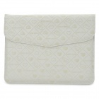 Stylish Bear Pattern Protective PU Leather Case for Ipad2 / the New Ipad - White