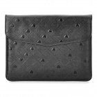 Stylish Bear Pattern Protective PU Leather Case for Ipad2 / the New Ipad - Black