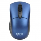 1000CPI 2.4GHz Wireless Optical Mouse w / USB-Receiver - Schwarz + Blau (2 x AAA)