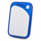 3900mAh Rechargeable External Battery for iPhone / Nokia / Samsung / Sony Ericsson - White + Blue