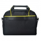 "Designer-Mode Protective Nylon Handtasche / One-Shoulder-Bag für 12,1 ""Laptop Notebook - Schwarz"