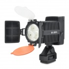5600K / 3200K 520LM 3-LED Video Light - Black (1 x NP-550 / NP-F570)