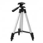 Aluminum Alloy Tripod w/ Carrying Bag for Camera - Black + Silver
