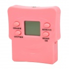 "H17 0.9"" LCD Electronic Massager - Pink (2 x AAA)"