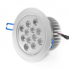 12W 6000~6900K 1000-Lumen 12-LED White Light Ceiling Down Lamp (AC 85~265V)